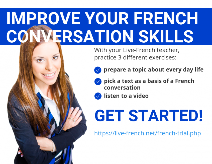 How to improve your French conversation skills