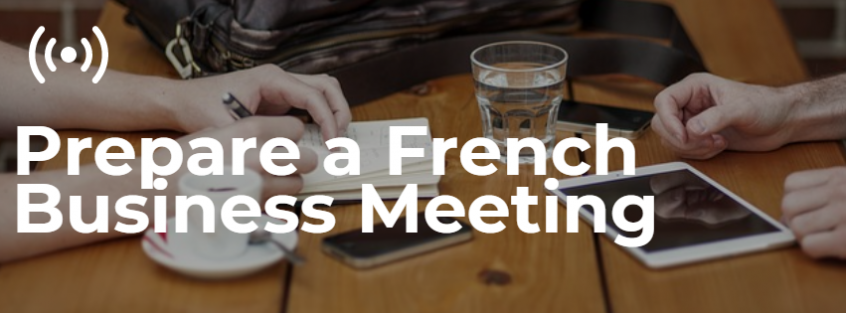 French Business Meeting