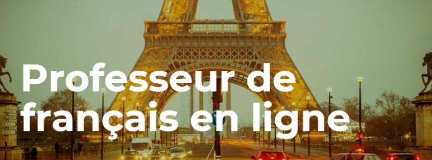 professeur de français en ligne