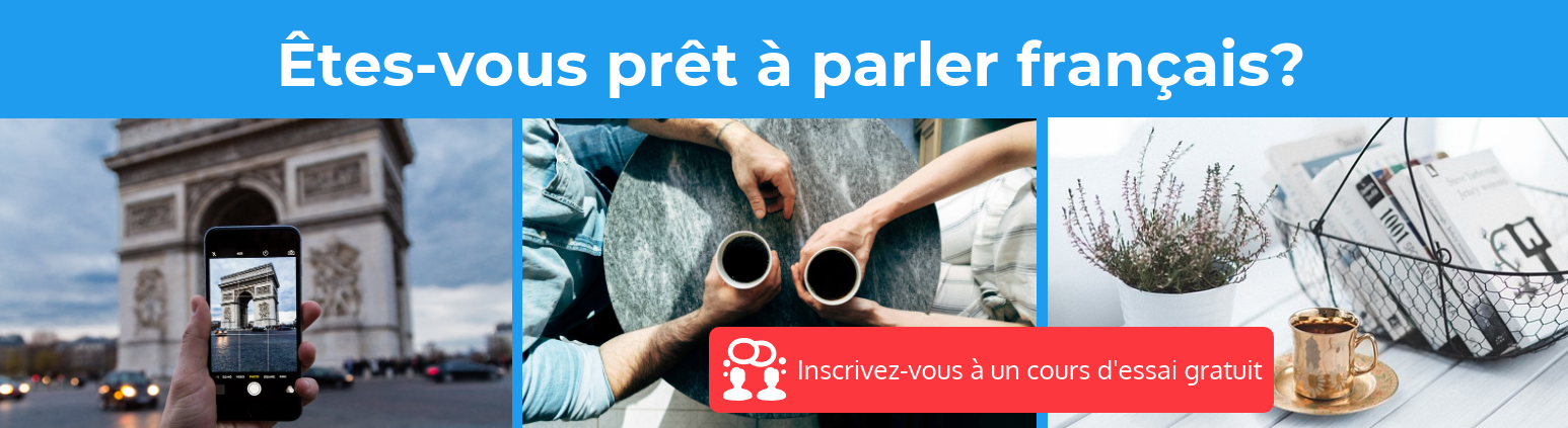 Free French trial lesson
