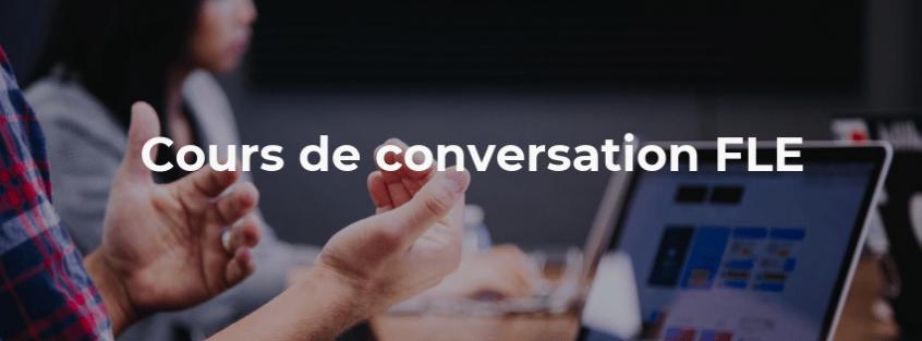 Cours de conversation FLE