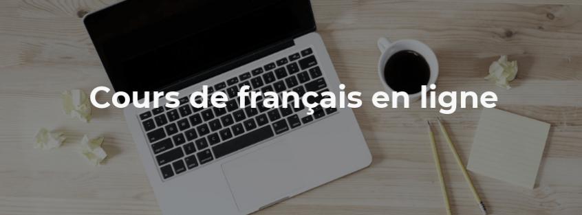cours de français en ligne