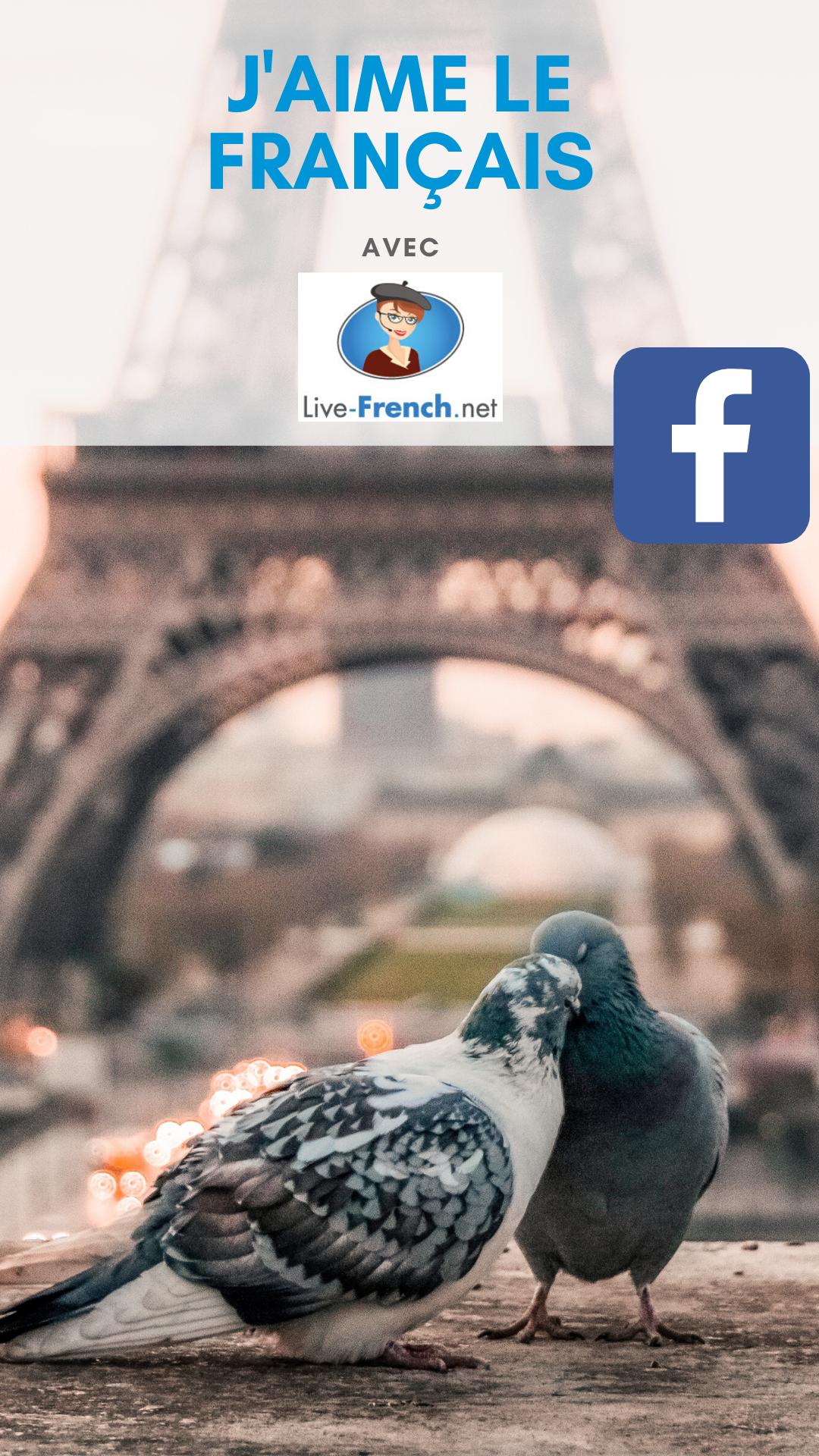 J'aime le français avec Live-French.net (Groupe Facebook)